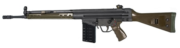 PTR 91 GI, .308 Caliber Semi-Auto Rifle, Roller Delayed Blowback - PTR-100