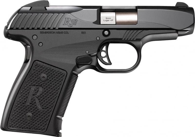"Remington 96430 R51 RP9 9mm+P 7rd 3.4"" 3 Dot Black"