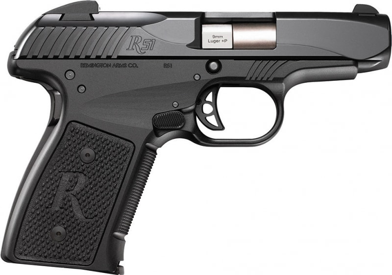 "Remington 96430 R51 RP9 9mm+P Semi-Auto Pistol "" Gen 2 "" - 7rd 3.4"" 3 Dot Black - Special Promotion with 3 Magazines"