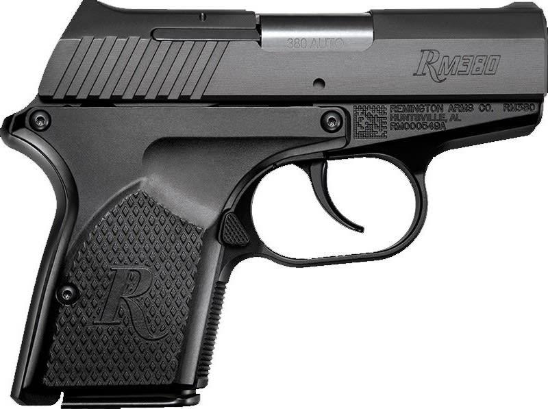Remington RM380 Micro .380 Auto Pistol 6+1 DAO Black