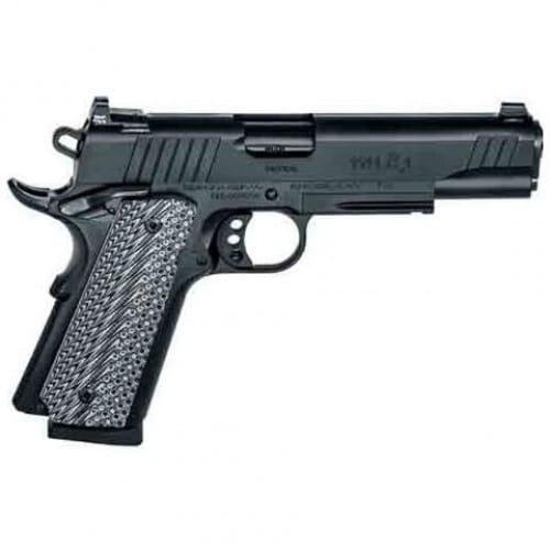 Remington Firearms 1911 Single 45 ACP Pistol, 5in Barrel 8+1 Black G10 Grip Black Stainless Steel - 96385