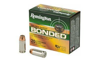 Remington 29365 GSB40SWBB GLD Saber 40 S&W 180 BJHP - 20rd Box
