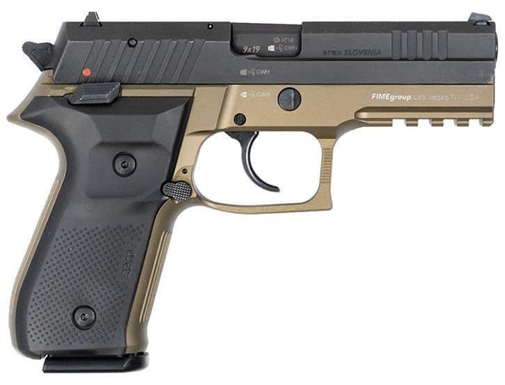 Rex Zero 1 Standard, 9mm, FDE, 2- 17rd Mags, Case - REXZERO1S-03