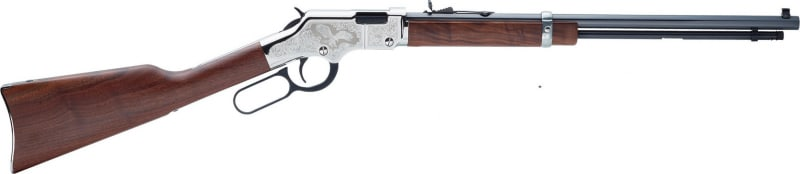 "Henry Golden Boy 22LR Rifle, 20"" Silver Eagle 2nd Edition - H004SE2"