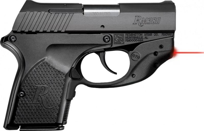 "Remington RM380 Micro Crimson Trace 380 ACP Pistol, 2.9"" 6rd - REM 96462"