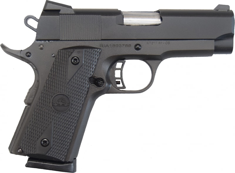 "Rock Island Armory 1911-A1 CS Tactical .45 ACP, 3.5"", 7rd, Compact Model 51429"