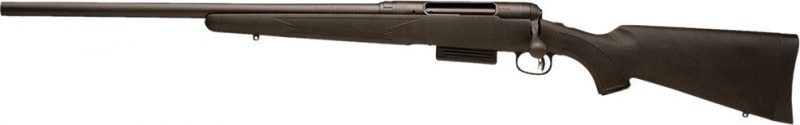 "Savage Arms 220 Slug Left Hand Bolt 20GA Shotgun, 22"" 3"" Black Synthetic Stock Black - 19640"