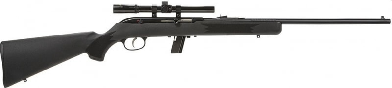 "Savage Arms 64 FXP 22LR Rifle, 20.5"" 4X15MM Synthetic Package - 40000"