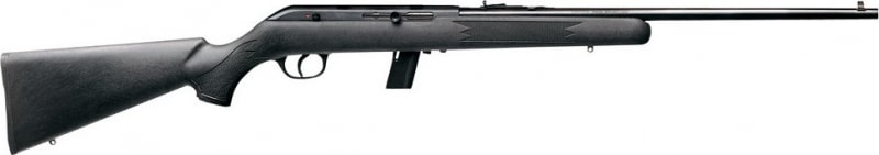 "Savage Arms 64 F 22LR Rifle, 21"" DBM Blued Synthetic - SAV 40203"