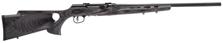 Savage Arms A17 Target 17HMR Rifle, 22in Heavy Barrel Thumbhole - 47005