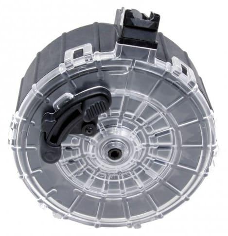 Saiga 12-Gauge (20)Rd Polymer Drum Magazine - SAI-A6, by ProMag