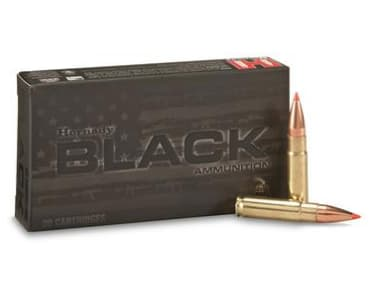 Hornady Black V-MAX 300 Blackout Ammunition 110 GR 20 Rd Box