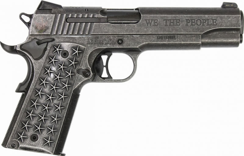 Sig Sauer 1911 45 ACP We The People Special Edition Pistol 1911T-45-WTP