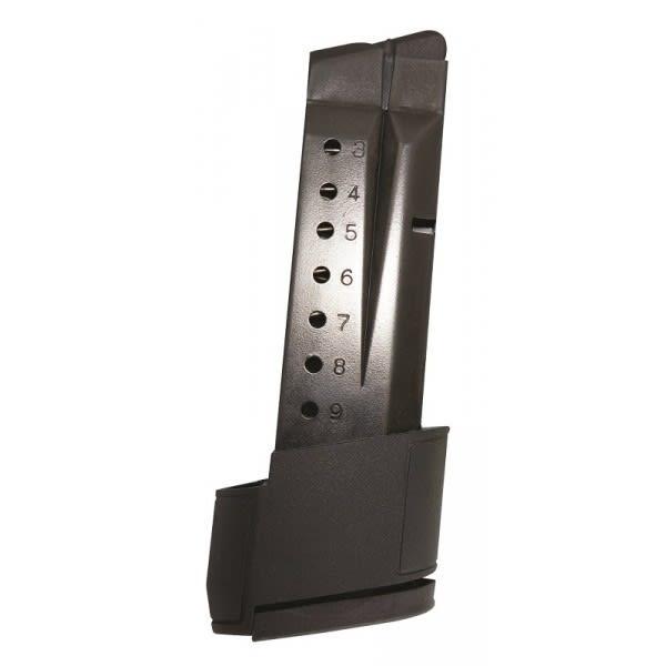 Smith & Wesson Shield 9mm (10) Rd Blue Steel Magazine SMI-28