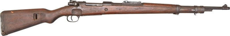 "1933 Standard Modell Mauser Rifle, 7.92 ( 8MM Mauser ) Caliber, "" Banner Rifle "" - Surplus Turn In Condition - C & R Eligible"