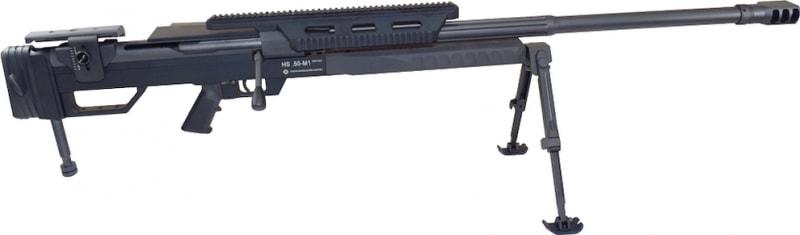 """Steyr HS .50-M1, 50 BMG, 33"""" w/ 5rd Mag, Bolt Action w/ Bi-Pod and Factory Carry Case 610551"""
