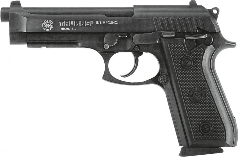 Taurus PT92 9mm Pistol, FS 18rd High Cap - 192015117