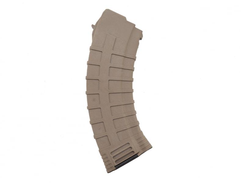 Tapco AK-47 30 Round Mag, Polymer 7.62x39 MAG0630 16647 Dark Earth