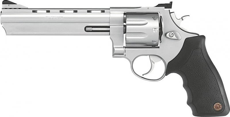 Taurus 608 .357 Magnum Revolver, 6.5 AS Stainless Steel Ported 8rd - 2608069