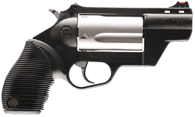 """Taurus Public Defender 45LC/410GA Revolver, 2.5"""" Stainless Steel - 2441029TCPLY"""