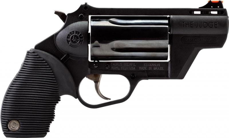 "Taurus 2-441021PFS 45/410 Judge Public Defender DA/SA 45 Colt (LC)/410 2"" 5 Black Polymer Black"