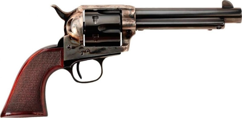 Taylor's & Company Smoke Wagon .357 Magnum Revolver, 5.5in Barrel Checkered Walnut - 4108