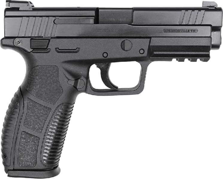 """SDS Imports - Zigana PX-9 Semi-Automatic Pistol 9mm (2) 15rd Mags 4.5"""" Barrel - Includes Hard Case, Holster and Loader"""