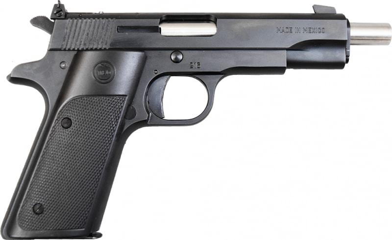 """TREJO 2GT .22 LR 11+1 Cap, Pistol w/5"""" Extended Barrel, Black - 2GT-EXTD"""
