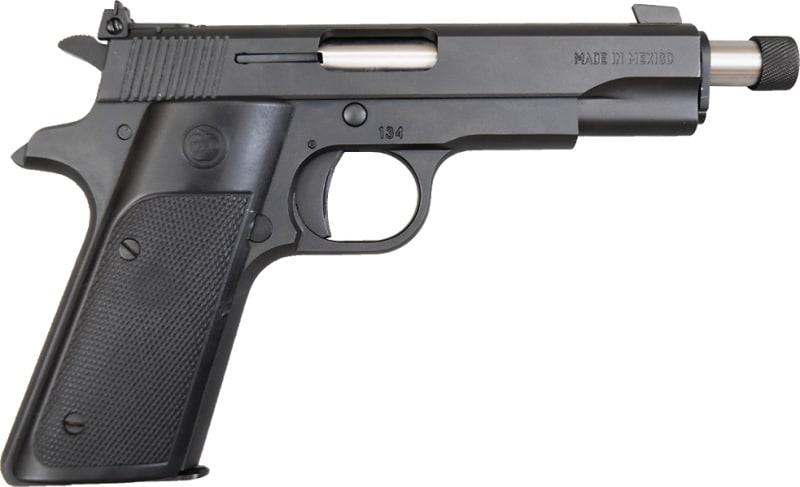 """TREJO 2GT .22 LR 11+1 Cap, Pistol w/5"""" Extended Threaded Barrel, Black - 2GT-EXTD-THREAD"""