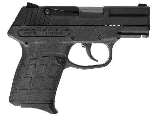 Kel-Tec PF-9 Blue/Black Compact 9mm Pistol 7+1 Capacity -PF9BBLK