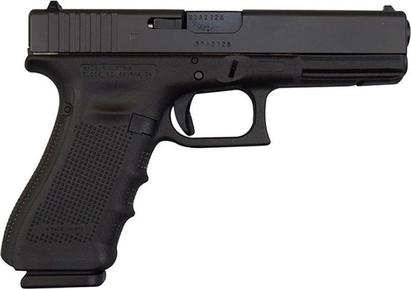 Glock 17 Gen 4 9mm Semi-Auto Handgun w/ (3) 17 Rd Mags and F/S PG1750203
