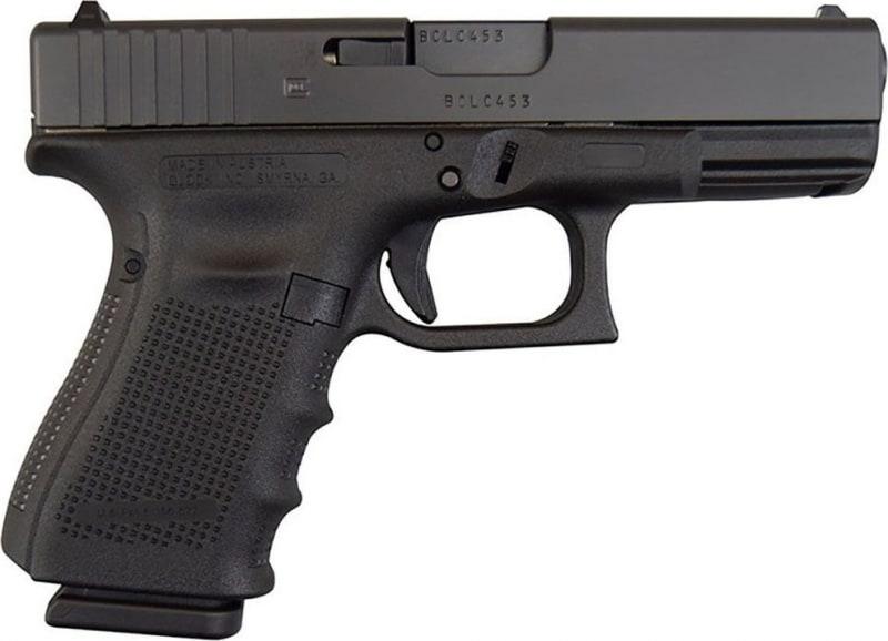 Glock 23 Gen 4 .40 S&W Compact Handgun w/ Fixed Sights, (3) 13 Rd Mags PG2350203