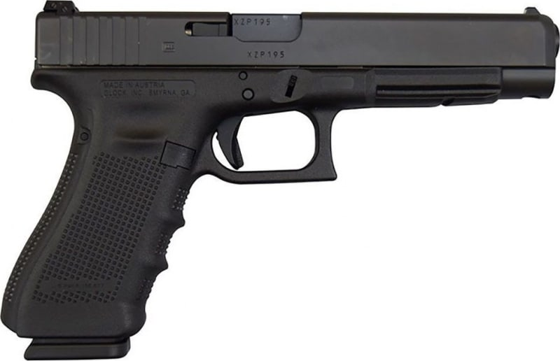 Glock 35 Gen 4 .40 S&W Semi-Auto Competition Handgun w/ A/S and (3) 15 Rd Mags PG3530103