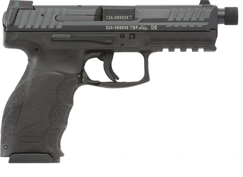 """Heckler & Koch VP9 Tactical 9mm Pistol, 4.7"""" Black Night Sight 3 15rd - HK 700009TLEA5"""