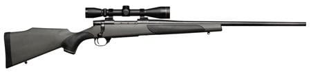 "Weatherby Vanguard 300 Weatherby Rifle, 24"" Leupold VX2 3-9x40 Synthetic Package - VLP300WR4O"