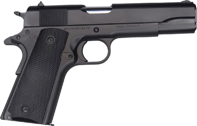 SDS Imports 1911A1 Service Model 7+1 .45 ACP Black Parkerized Finish - Turkish Made By Tisas.