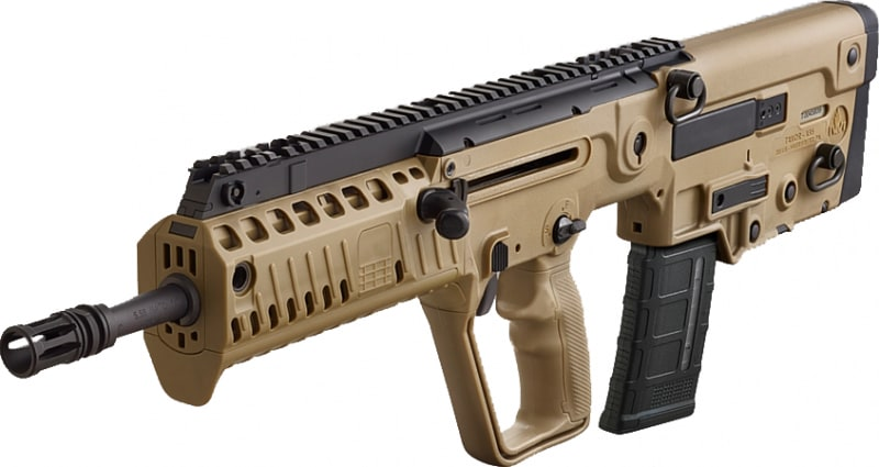 IWI Tavor X95 XFD16 Flattop Carbine, 5.56 Caliber Bullpup Semi-Auto Rifle 30+1 Flat Dark Earth