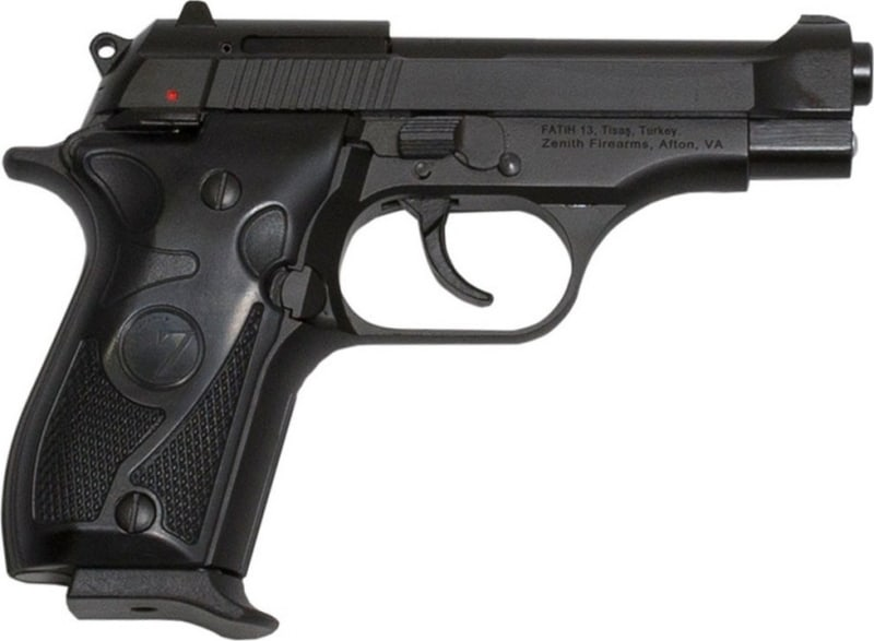 "Tisas FATiH B380 Semi-Automatic Pistol .380 ACP 12rd 3.9"" Barrel - Black"
