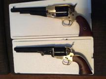 1858 Army and 1851 Navy Black Powder Revolvers