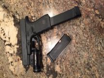 Glock 19 w/extended magazine