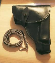 Nice leather holster, also like new