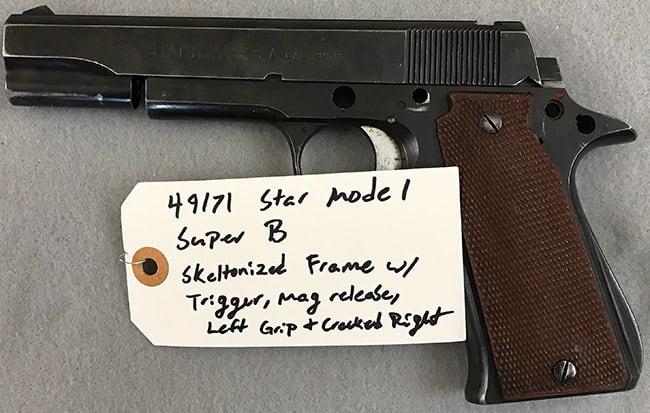Star Model Super B Gunsmith Special #49171