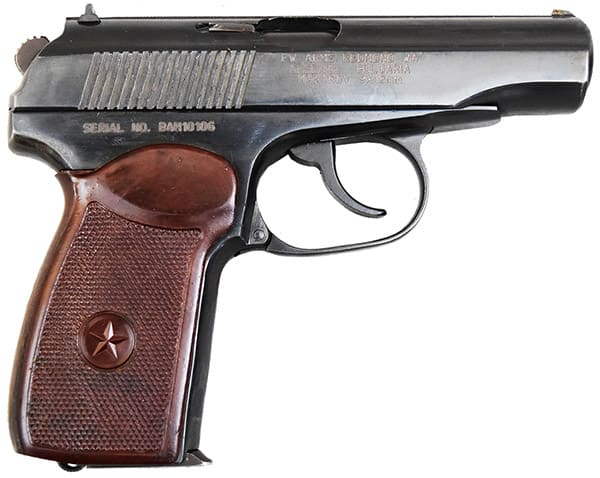 Bulgarian Makarov 9x18 Surplus Pistols