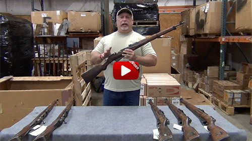 Video: Finnish M39 Mosin Nagant Rifles - Cracked Stocks