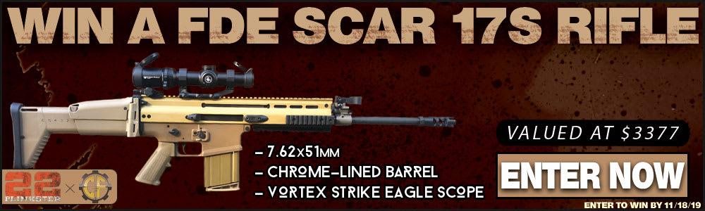 Win A FDE FN SCAR 17S Rifle w/ Vortex Scope