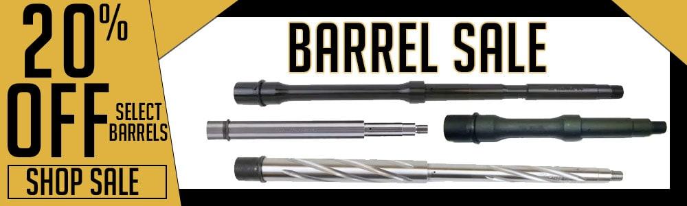 Shop 20% off select barrels