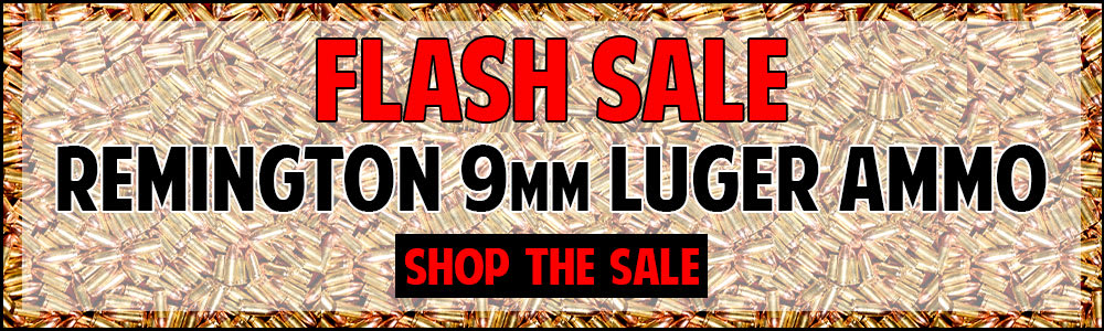 Flash sale on Remington 9mm Luger Ammo