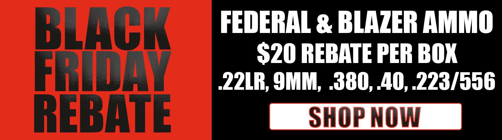 Blazer & Federal Black Friday Rebate