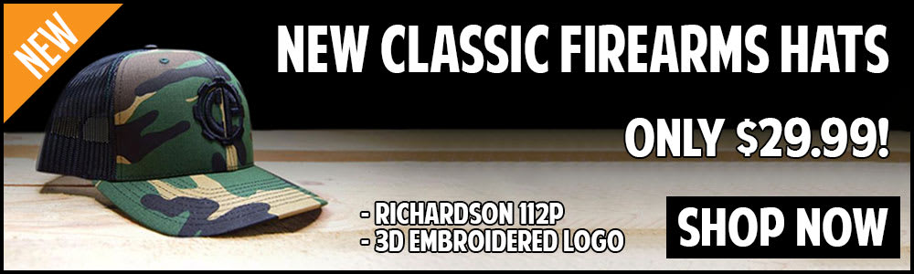 Shop The New Classic Firearms Hats