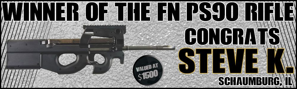 Winner Of The FN PS90 Rifle